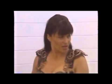 Xena  Lucy Lawless Learning to Breath Fire