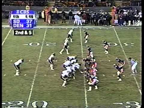 Chargers vs. Broncos, 2000