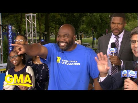 How a dad is making a difference in his Philadelphia community l GMA