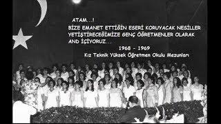 OKUL YILLARINDAN GERİYE,  ANILAR KALDI...