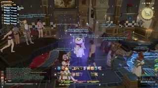 Final Fantasy 14: A Realm Reborn | Housing Special: Gildenhaus  |  Eröffnungsparty vom 08.08.2014 !!