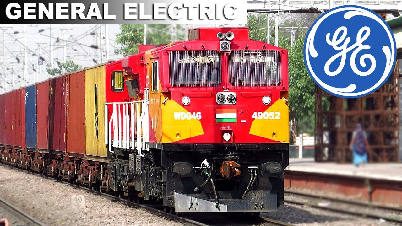 General Electric Locomotives in Indian Railways | WDG4G
