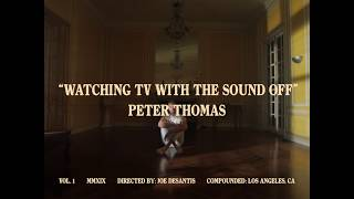 Watching TV With The Sound Off