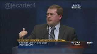 Grover Norquist - We just need a President to sign this stuff