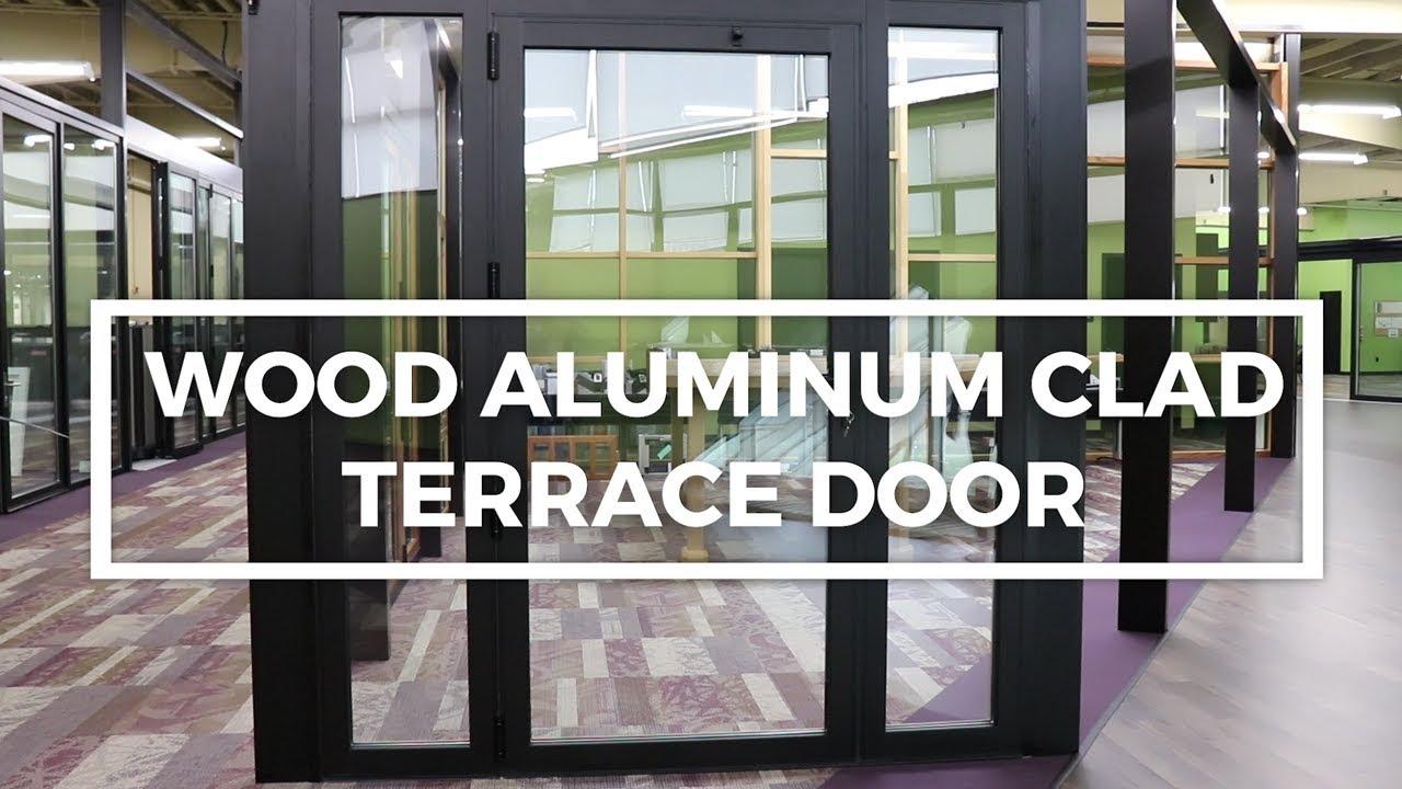 Wood Clad Aluminum Terrace Door | Operations Demonstration | Solar  Innovations