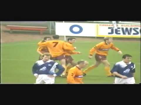 Motherwell 3 Raith Rovers 0 (Stark's Park) 6th November 1993