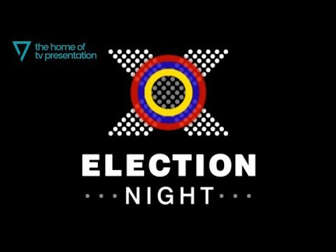 BBC Election Night - opening titles - European Election 2004