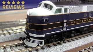 Inter Mountain HO FTA DCC with sound Baltimore and Ohio 492065-2