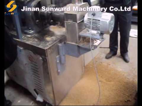 single screw extruder fish feed machine