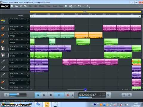 Film music by Magix Music Maker