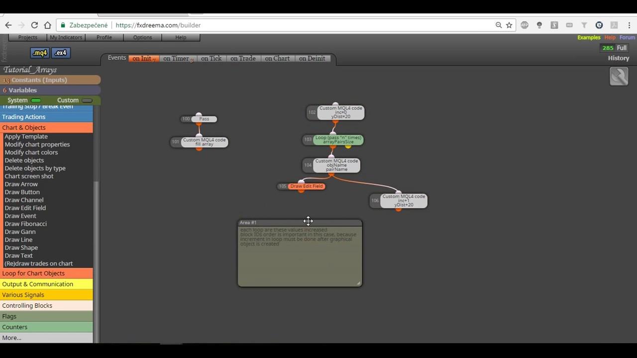 Multipair Signals Forex Dashboard EA created in fxDreema
