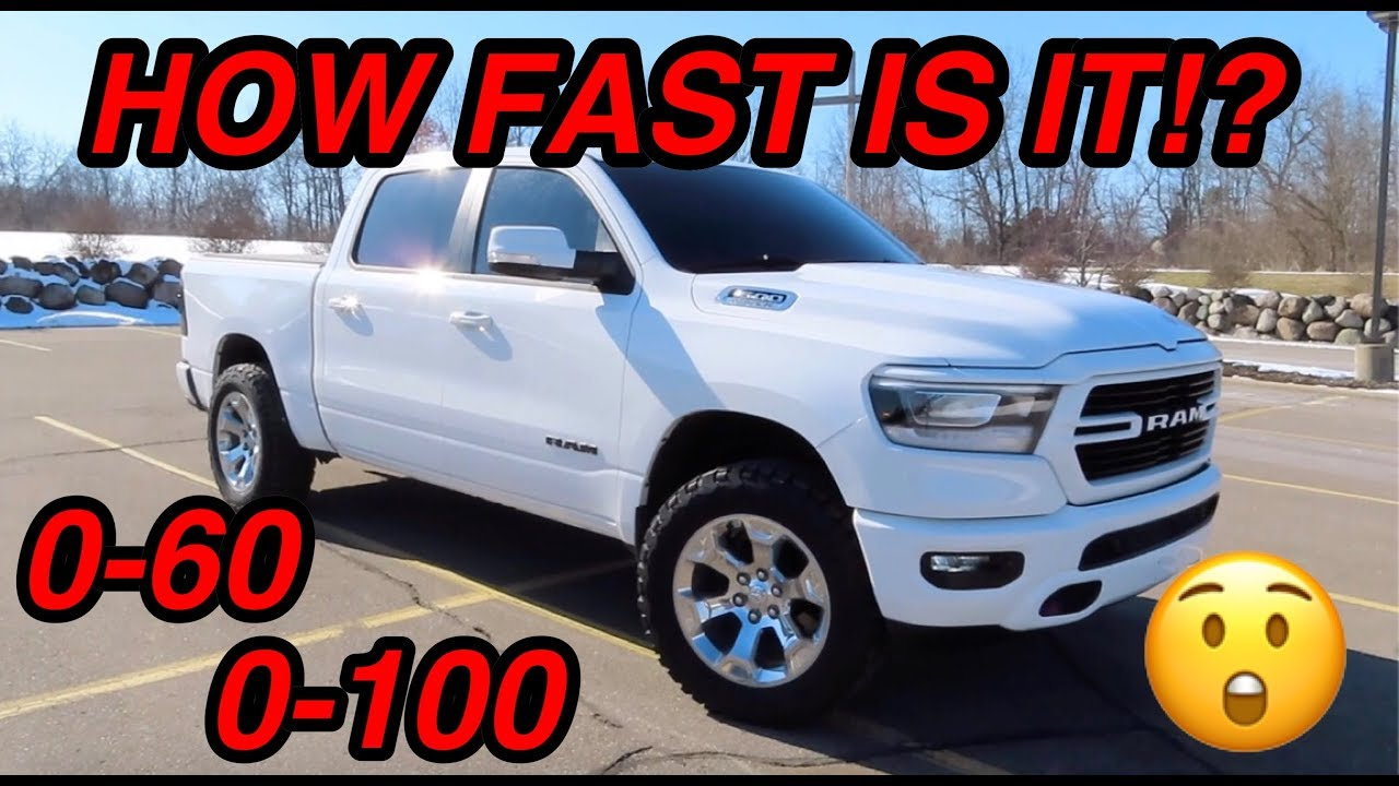 2019 RAM 1500 0-60 TESTING! *PULSAR PERFORMANCE UPDATE*