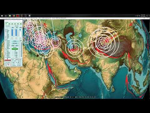 12/18/2018 -- Seismic Silence -- Earthquake unrest likely this week - Volcanic action across Pacific - 동영상