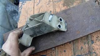Лада КАЛИНА ремонт кронштейна КПП