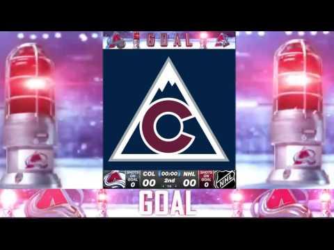 Avalanche 2017 Goal Horn with OFFICIAL Pepsi Center Graphics (Check DESCRIPTION)