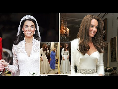Kate Middleton had a SECOND wedding dress when she married Prince William and THIS is why