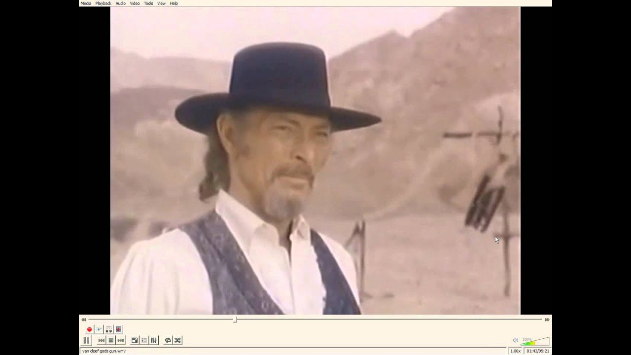 Lee Van Cleef first and last western - YouTube