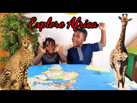 Explore Africa /Fun facts about Africa for kids/Black history for kids