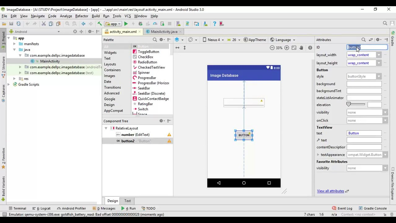 Insert image in sqlite database android studio