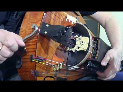 Northern Ballad. Hurdy-Gurdy, Organ Dron & Drum