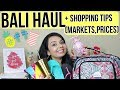 BALI 2018 HAUL+ Where To Shop (Tips,Prices,COFFEE)!!