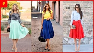 15 Fascinating Midi Skirt Outfits That Will Give You Inspiration For This Season