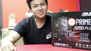 unboxing & Simple Review Asus Prime B250 Plus