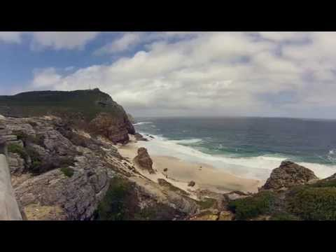 4000 km in 13 min - South Africa's coastline