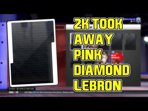 2K TOOK AWAY PINK DIAMOND LEBRON! WE NEED TO BE COMPENSATED! NBA 2k19 MyTEAM thumbnail