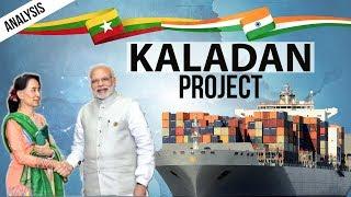 Kaladan Project - India Myanmar Relations -  Kaladan Multi-Modal Transit Transport Project