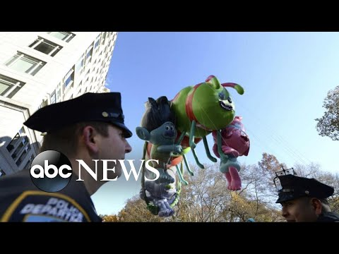 Security heightened for New York City Thanksgiving Day Parade