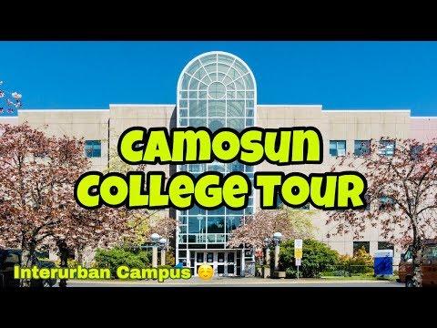Camosun College Tour - Interurban Campus   Victoria BC, Canada - International Student