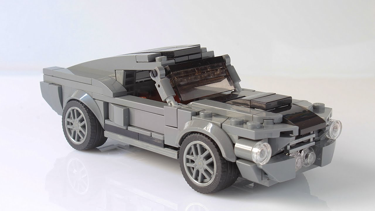 Lego ford mustang shelby gt500 eleanor moc