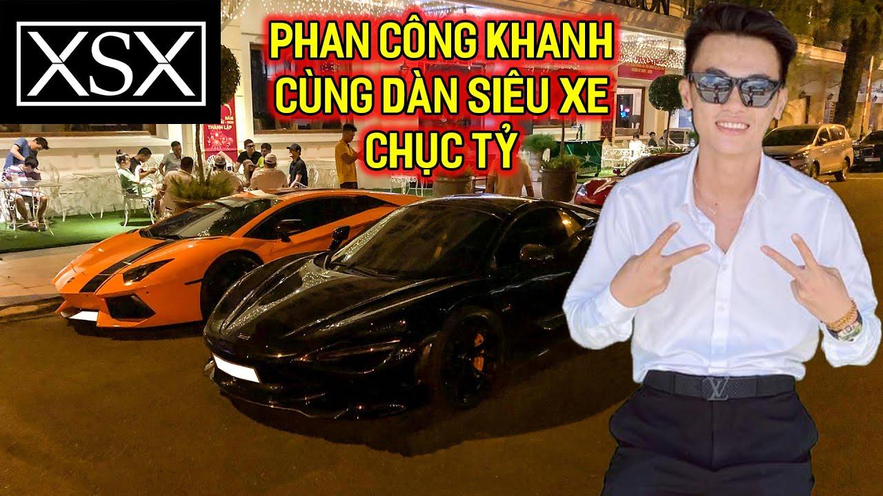 Phan Công Khanh, Phương Evo cùng dàn siêu xe Evo Team NÁO LOẠN lúc nửa đêm tại Sài Gòn   XSX