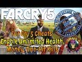Far Cry 5 Cheats Enable Unlimited Health, Money, One-Hit Kills