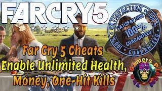Far Cry 5 Cheats Enable Unlimited Health, Money, One-Hit Kills