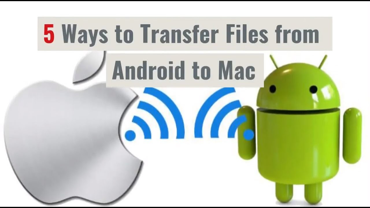 How to Transfer Files from Android to Mac Wirelessly over Wi-Fi.