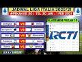 Jadwal Liga italia Malam ini Pekan 20 | Samdoria vs Juventus | Klasemen Serie A Terbaru | Live Rcti