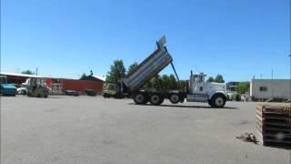 For Sale International F-9370 Tandem Axle Dump Truck 15' Cummins 400 bidadoo.com