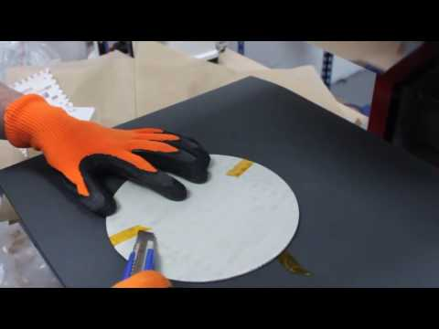 How to sublimate the clock with heat press