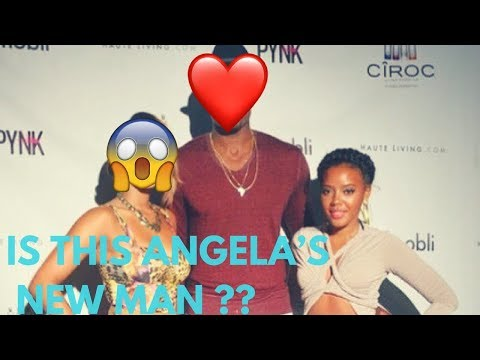 who is angela simmons dating right now