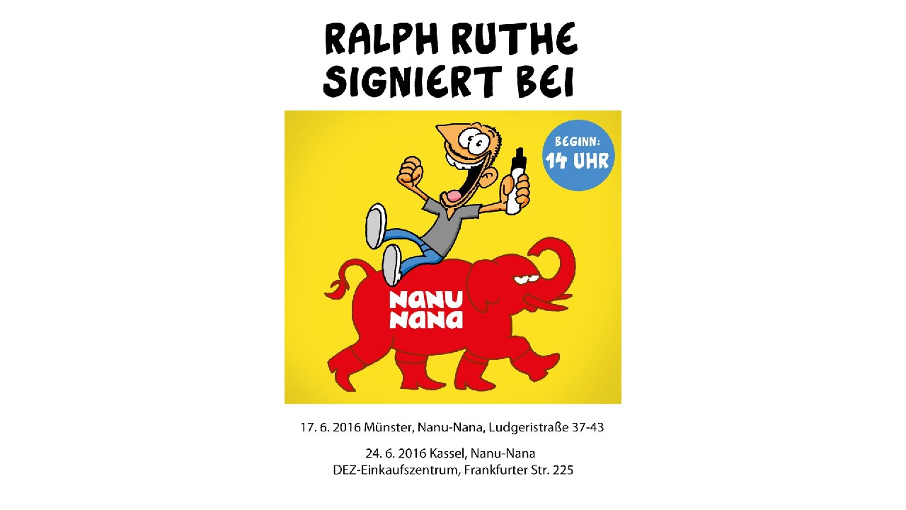 dein eigenes ruthe comic ralph ruthe meets nanu nana youtube. Black Bedroom Furniture Sets. Home Design Ideas