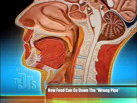 What to do if food goes down the wrong pipe