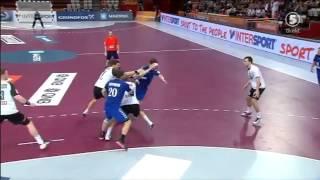 Гандбол Россия - Германия (2 часть) (Чемпионат Мира 2015 Катар)