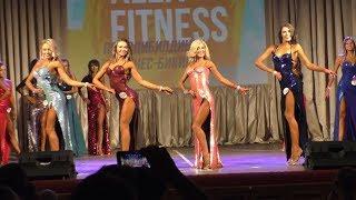 Фитнес модели - 2й раунд в платьях (Кубок ALEX FITNESS 2018)