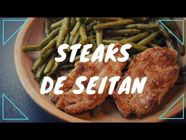 Seitan maison, pour steaks ou nuggets {végane}