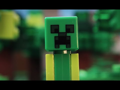 minecraft lego creeper