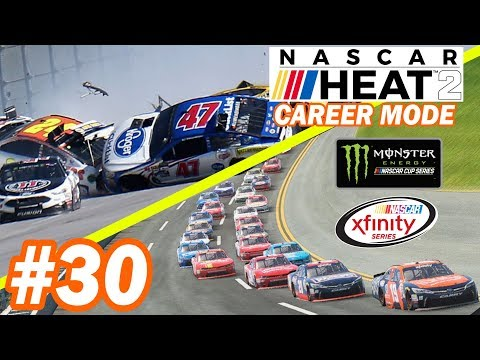 TALLADEGA DOUBLE SHOT  [Xfinity Series NASCAR Heat 2 Career Mode 9/33]