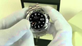 Whats in the box? Rolex Explorer II 42mm