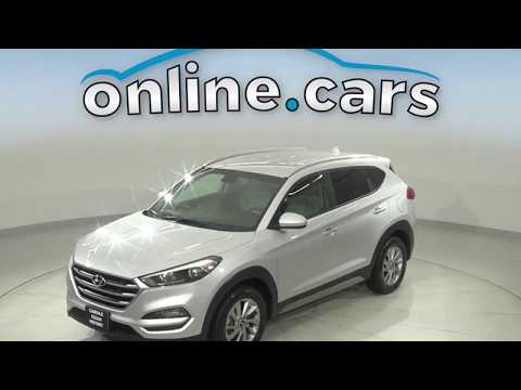 A17110TR Used 2018 Hyundai Tucson Silver SUV Test Drive, Review, For Sale